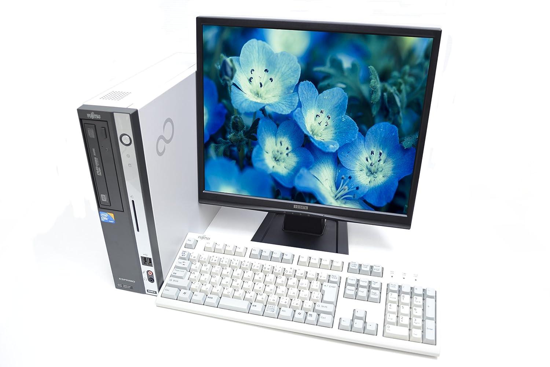 お待たせ! 19型液晶セット 省スペースパソコン Core2DUO 富士通 FMV-D530/A Core2DUO E7500(2.93GHz) DVDマルチ メモリ4G DVDマルチ メモリ4G 320GB Windows7 互換オフィス付 B00ZOMJ53W, 人気の春夏:9fe247bb --- arbimovel.dominiotemporario.com