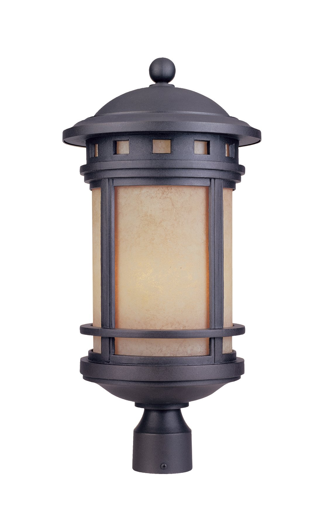 Designers Fountain 2396-AM-ORB Sedona Post Lanterns, Oil Rubbed Bronze