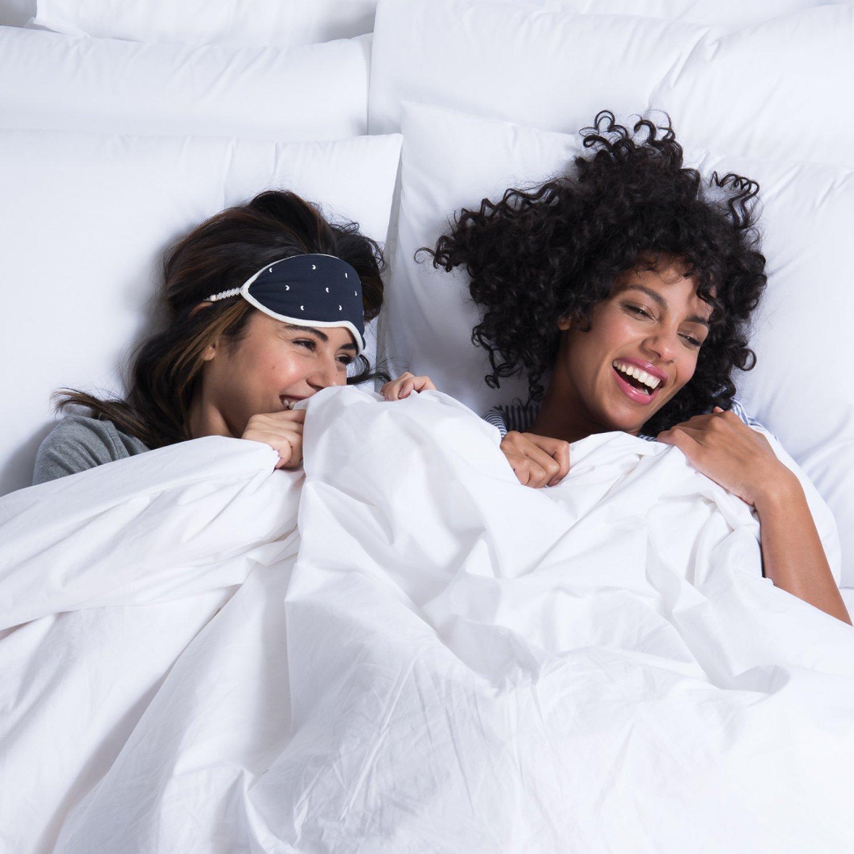 Brooklinen Luxe Sateen Duvet Cover - 480 Thread Ct, 100% Long Staple Cotton - Oeko-TEX Certified - Full/Queen
