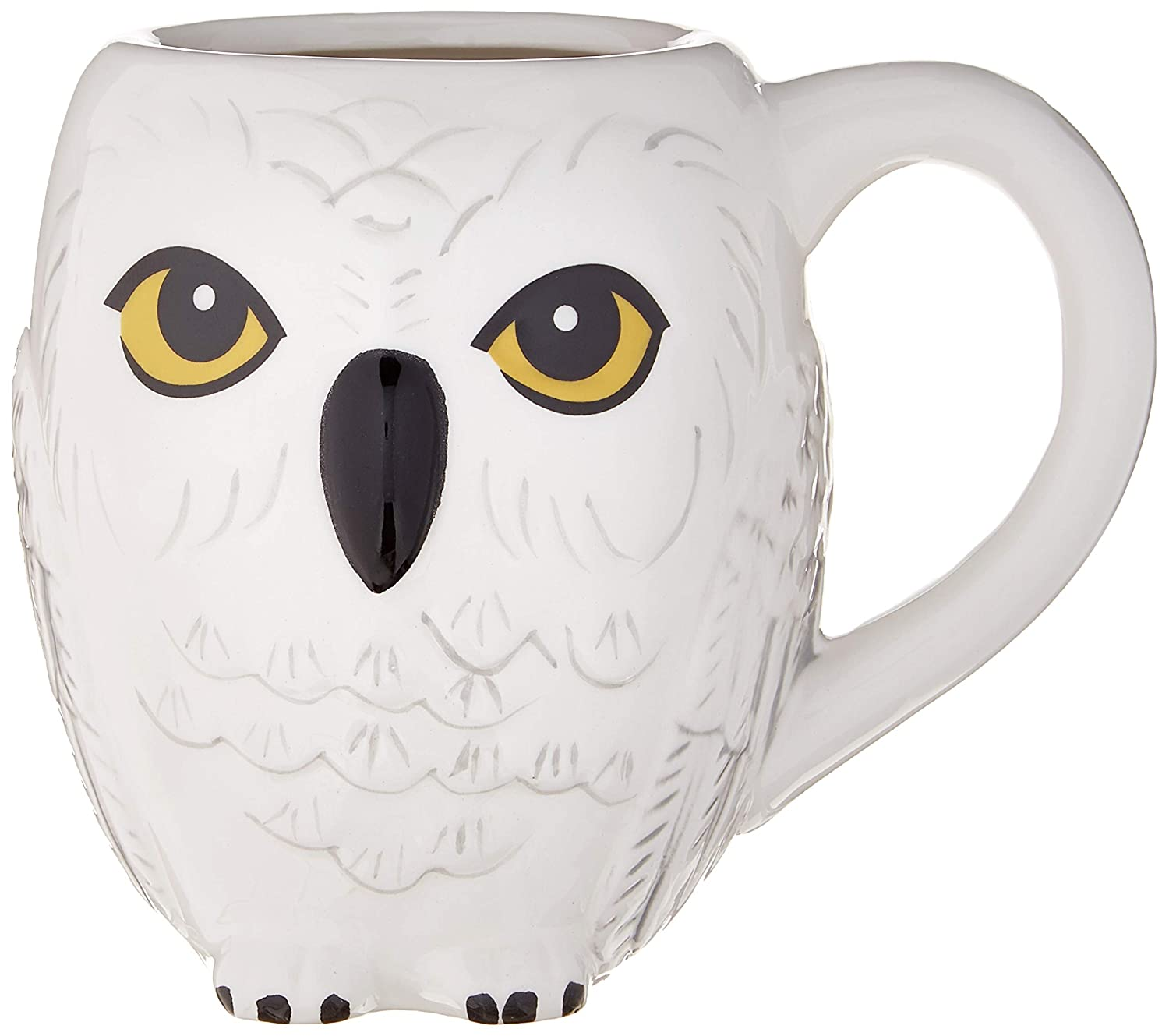 Groovy Harry Potter Hedwig 3D Sculpted Ceramic Mug 20 Ounces White Ocoug Best Dining Table And Chair Ideas Images Ocougorg