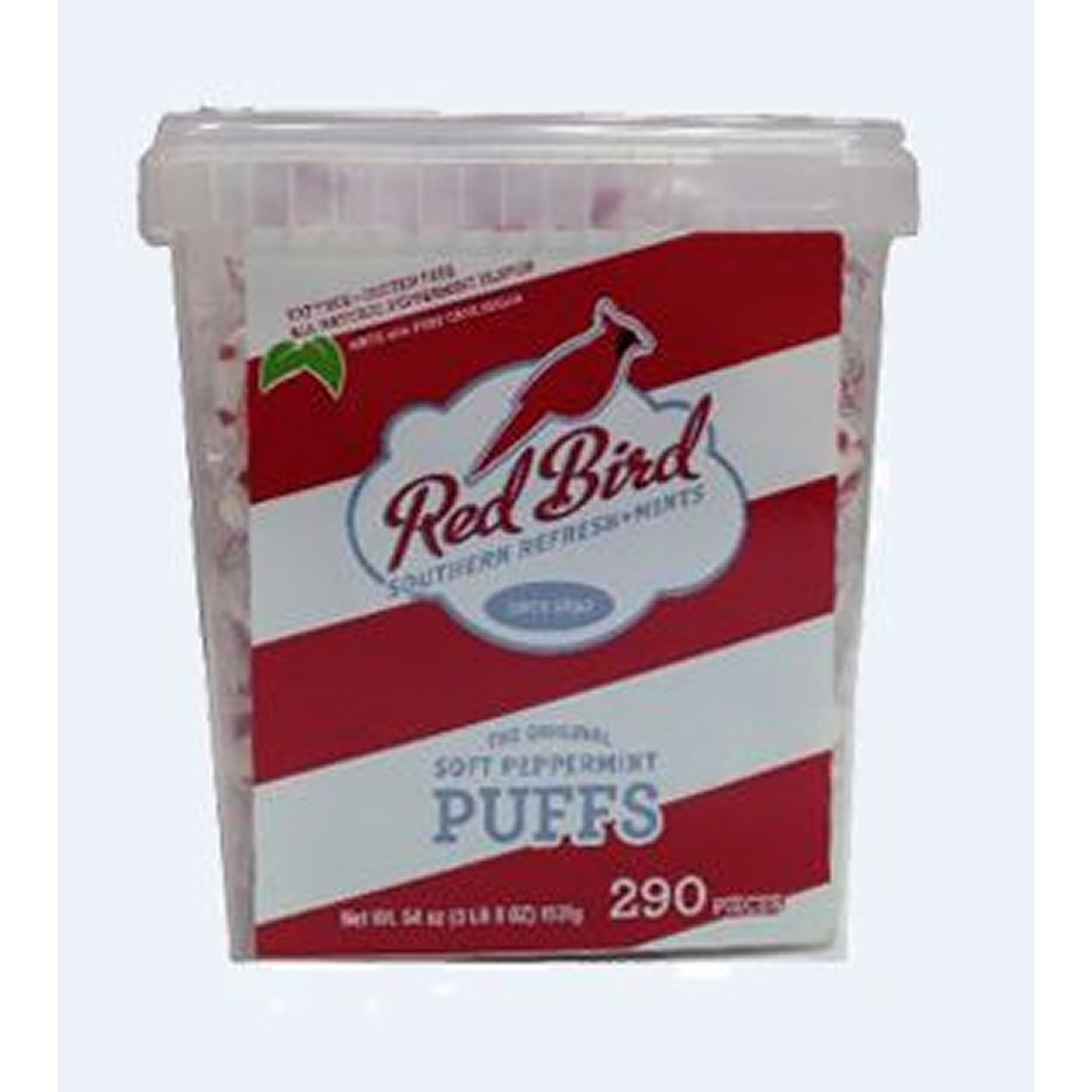 Piedmont Red Bird Peppermint Puffs, 290 ct. (pack of 2)
