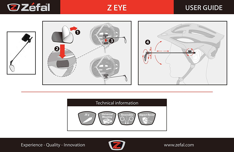 R/étroviseur de casque Z eye