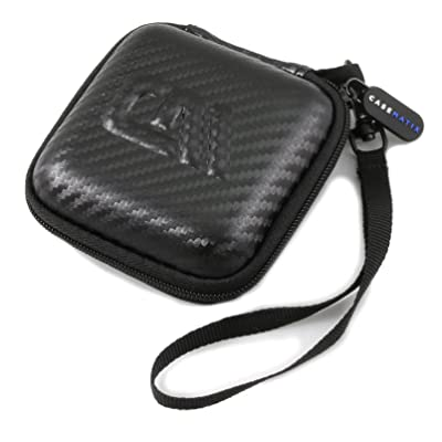 Casematix Carry Case Compatible with Dual Electronics xGPS150a Multipurpose Universal Bluetooth GPS Receiver and Charge Cable, Does Not Fit Other Dual Electronics Models or Larger Accessories