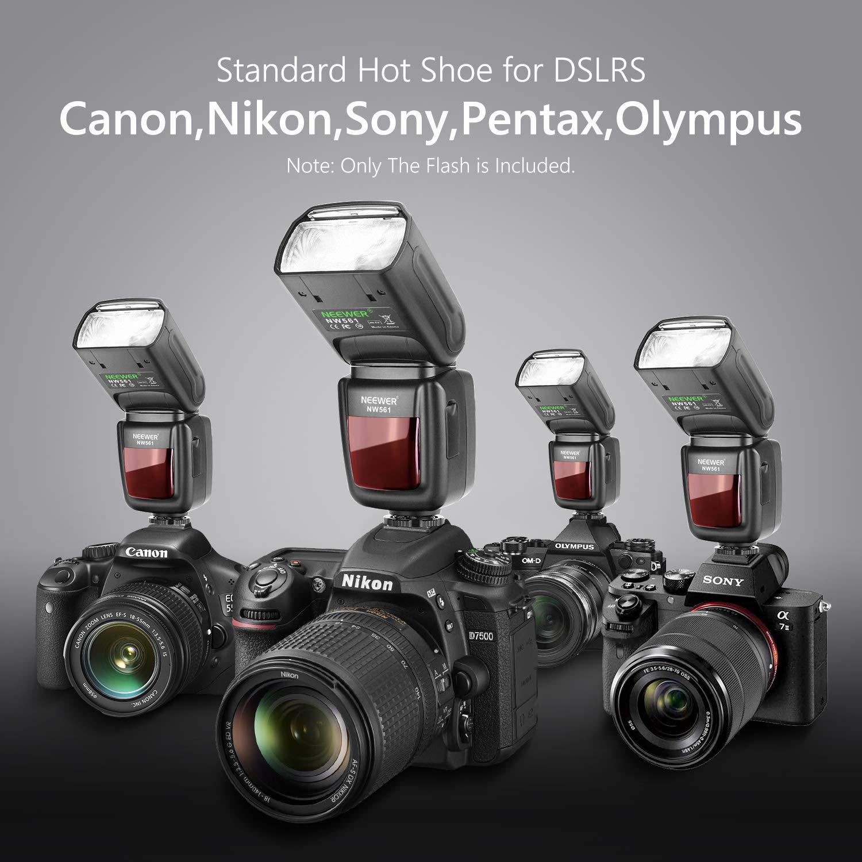 Neewer NW-561 Flash Speedlite para Canon Nikon Panasonic Olympus ...