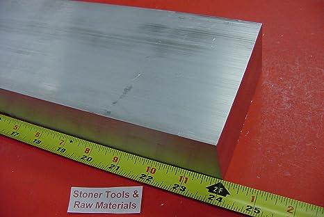 """1//2/"""" X 6/"""" ALUMINUM 6061 FLAT BAR 22/"""" long .500/"""" T6511 Plate New Mill Stock"""