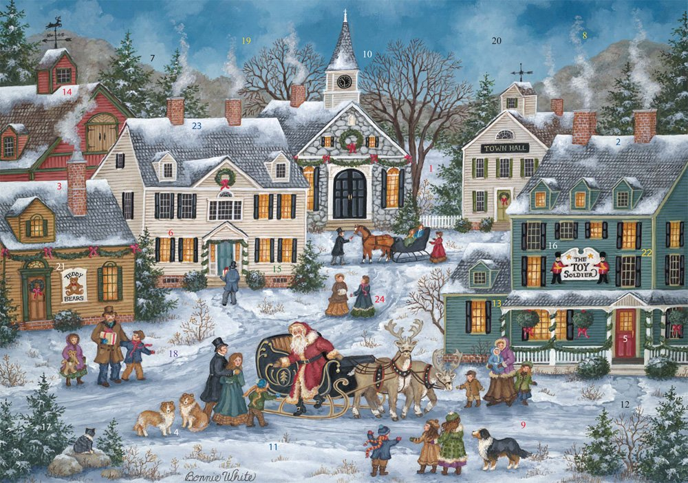 Spirit of Christmas Advent Calendar (Countdown to Christmas) Vermont Christmas Company