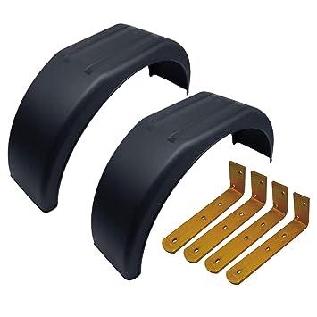 """AB Tools-Maypole Faldillas Guardabarros de plástico de 13"""" (Par) compensar Fit"""