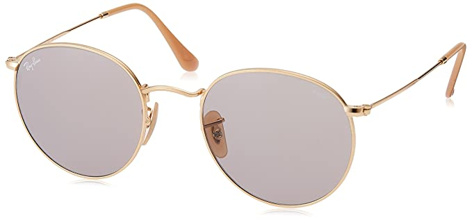 6919dec88f Ray-Ban RAYBAN 0RB3447 9064V8 53 Montures de Lunettes, Or (Gold/Grey ...