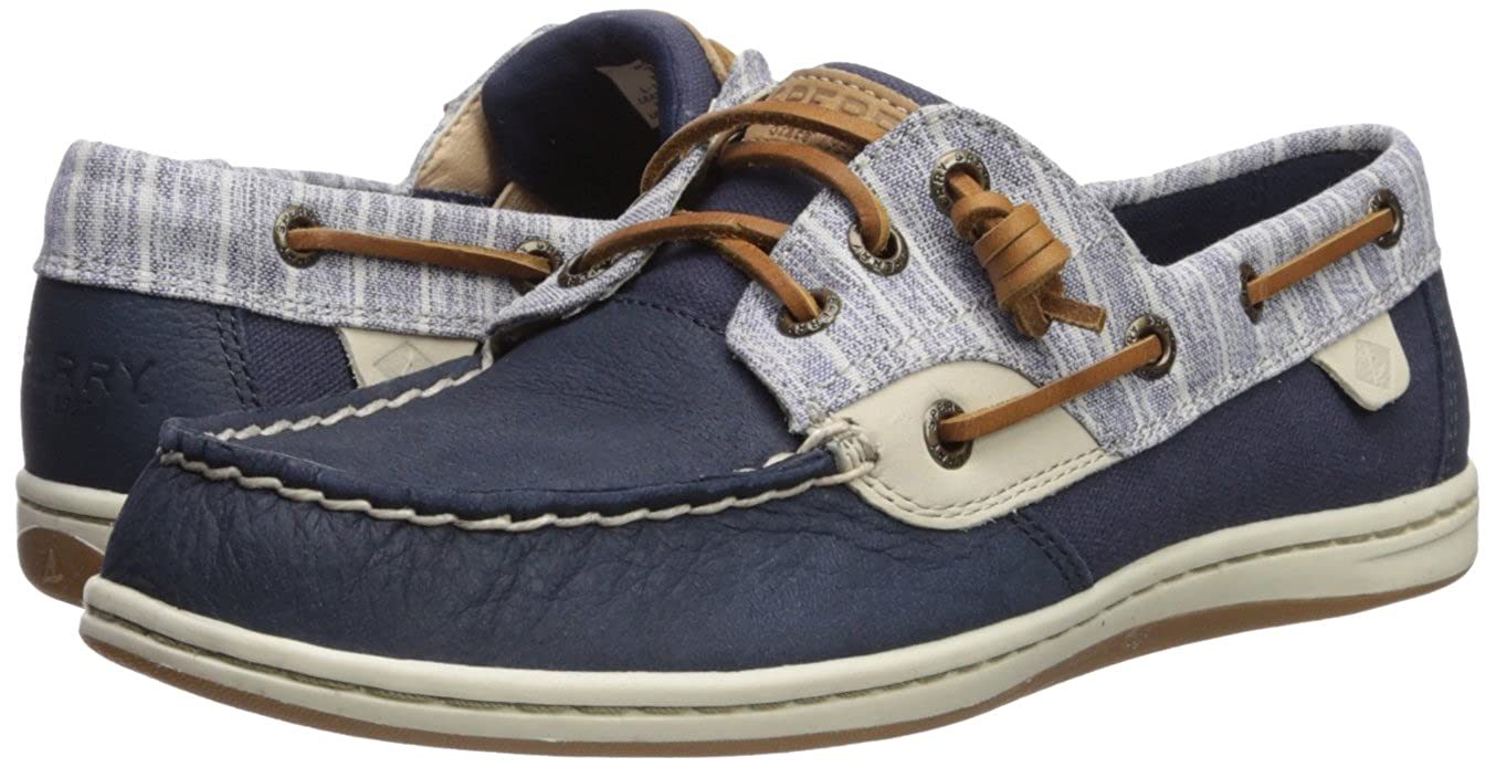 Navy 8.5 M US Sperry Womens Songfish Boat Shoe