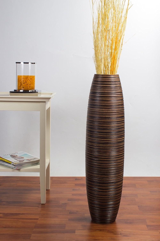 Amazon.com: Leewadee Tall Floor Vase 30 inches, Wood, Brown: Home ...