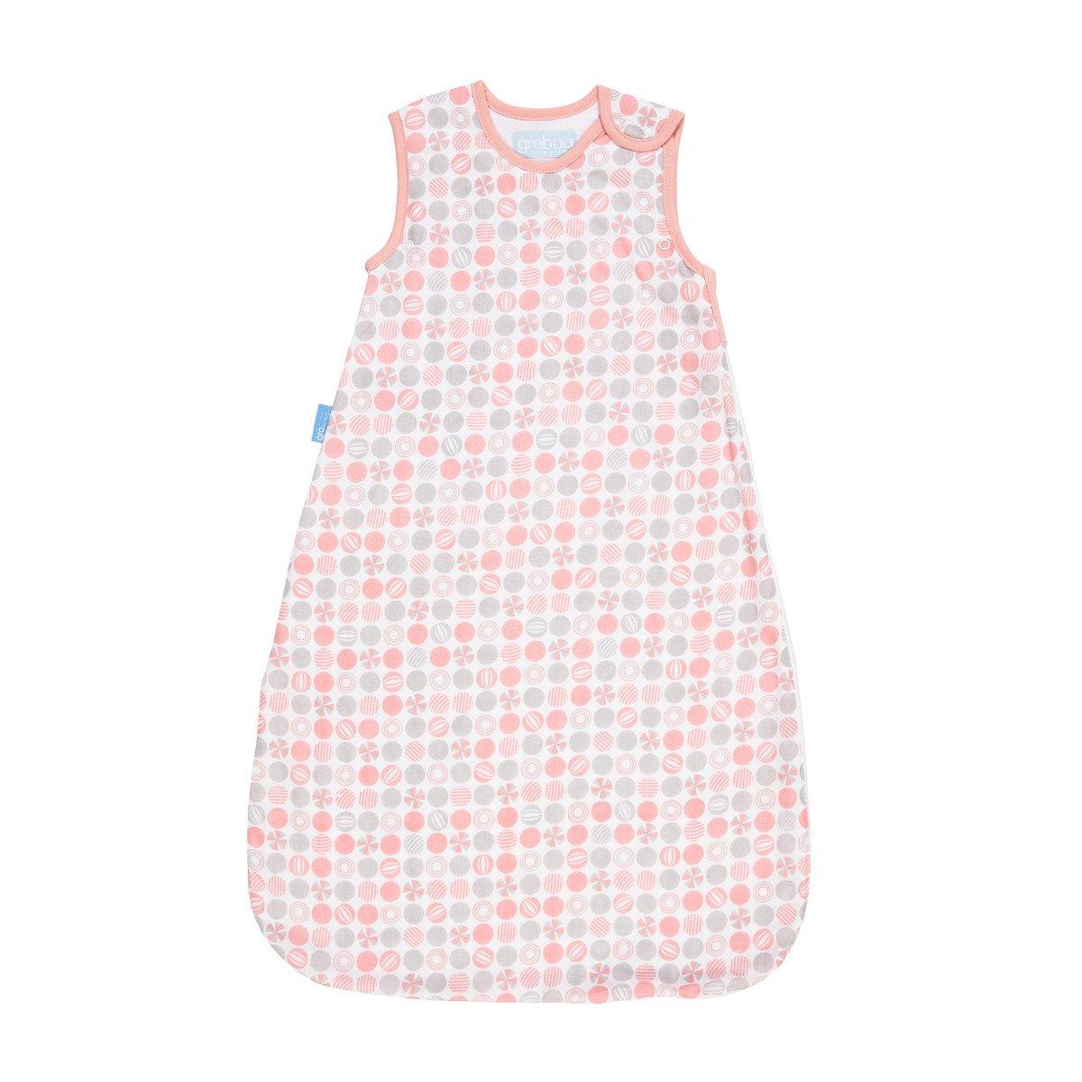Grobag lightweave Sleeping Bag 18-36 months 1 Tog Pink GRPRB AAA5093