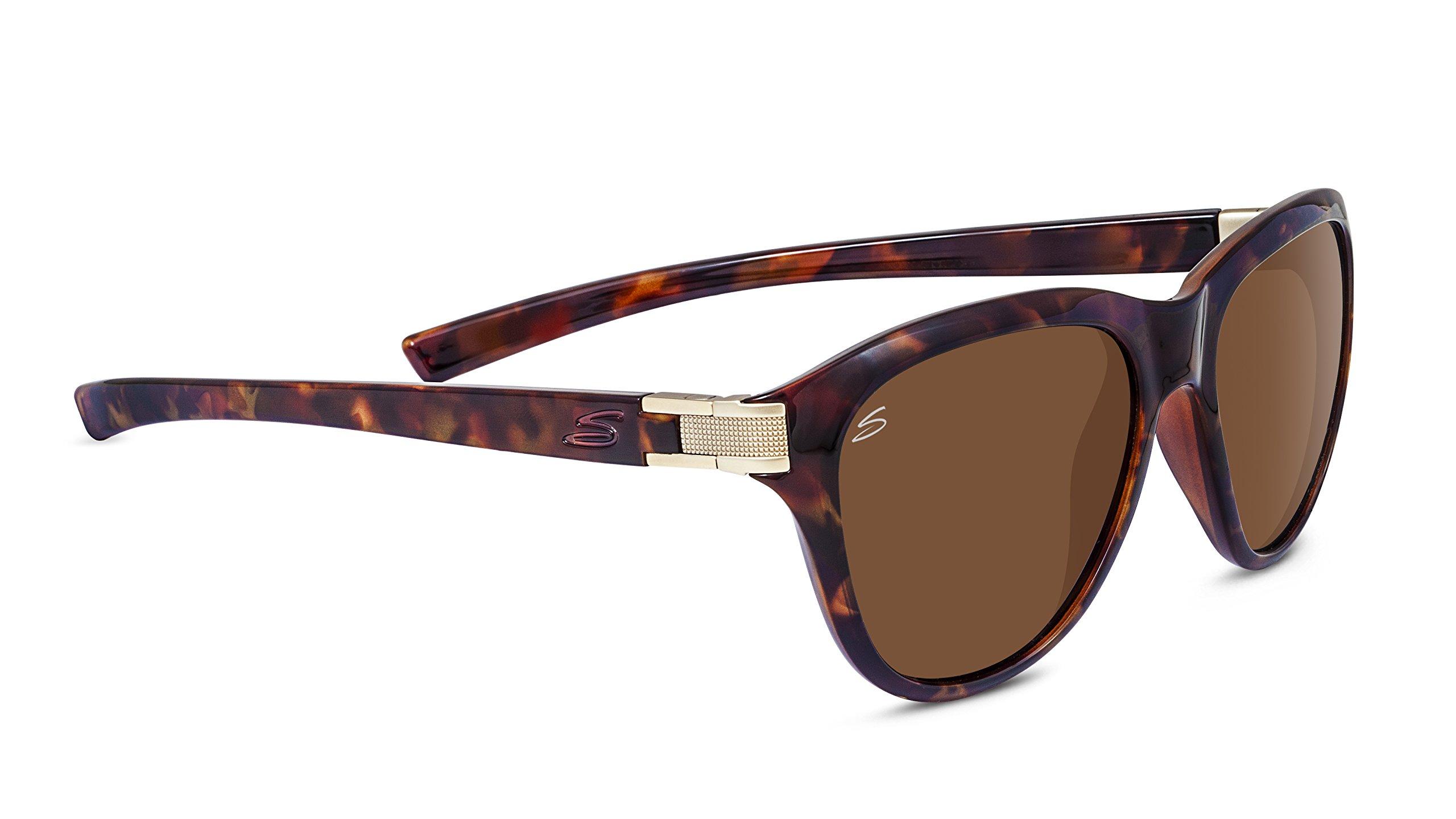 Serengeti 8330-Elba Elba Glasses, Shiny Red Moss Tortoise Frame