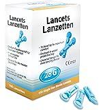 100 Blutlanzetten Gr. 28G kompatibel u.a. zu Stechhilfe von Beurer, Medisana, Accu Chek, SD