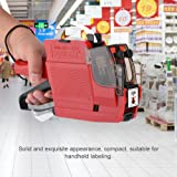 10 Digits Date Numbe Price Tag Gun Labeler Handheld Price Gun Tool Single Row Pricing Machine for Store