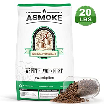 ASMOKE Apple Wood Pellets For Smoking