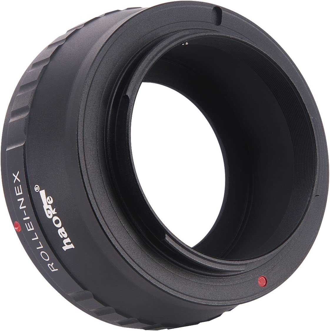 Haoge Manual Lens Mount Adapter for Rollei 35 SL35 QBM Quick Bayonet Mount Lens to Sony E NEX Camera a3000 a3500 a5000 a5100 a6000 a6400 a6500 A7 A7R A7S A7II A7RII A7SII A7III A7RIII A9 VG30 FS7 FS5