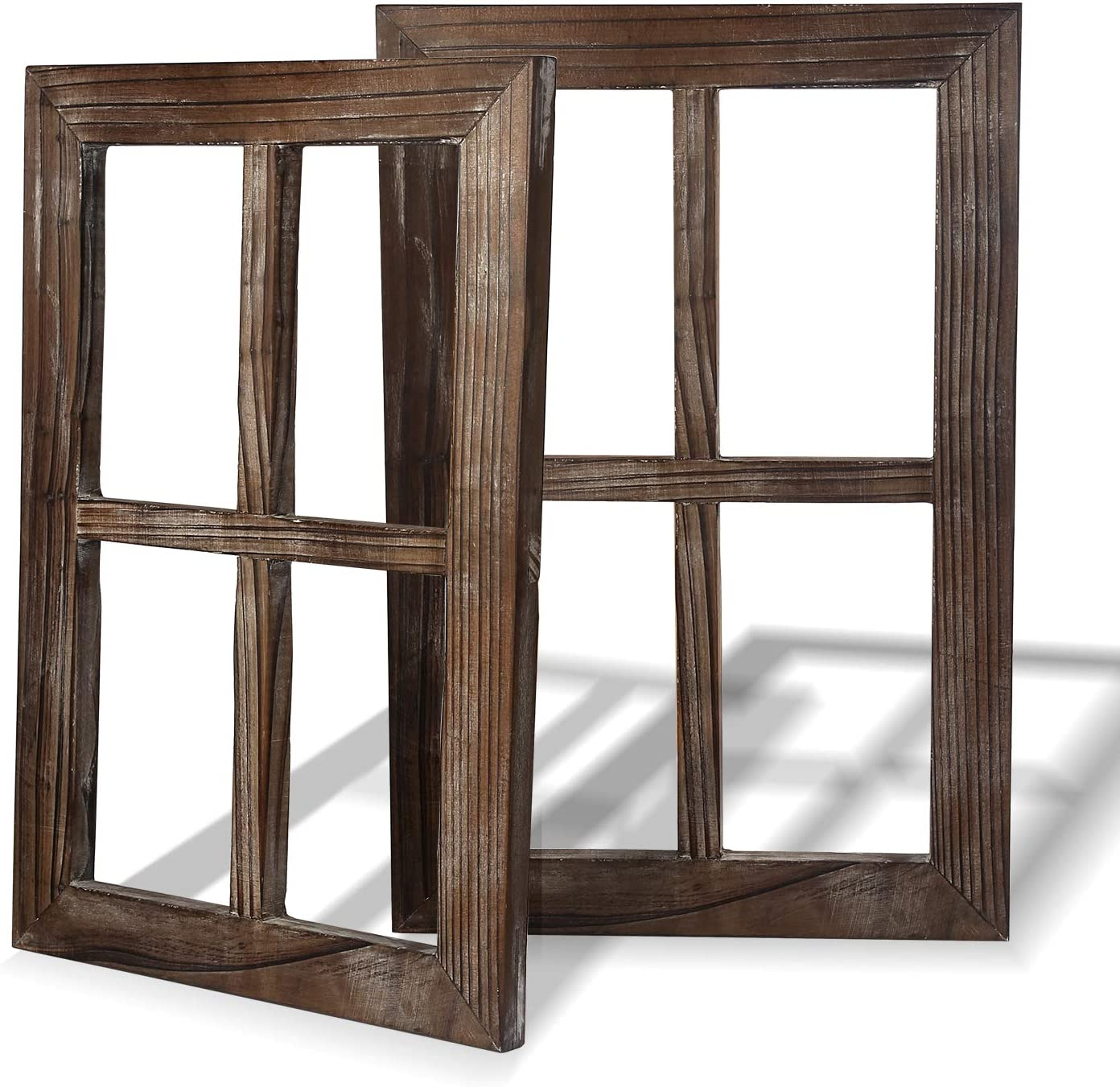 Amazon Com Rustic Wall Decor Home Decor Window Barnwood Frames Room Decor For Home Or Outdoor Not For Pictures Everything Else