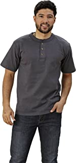 product image for Goodwear Adult Short Sleeve Henley Modern Fit