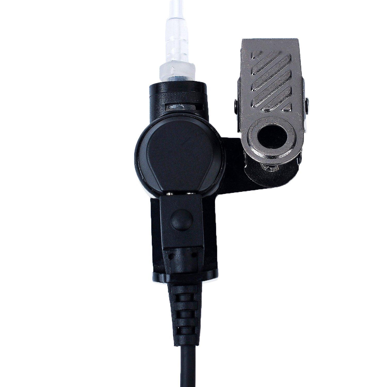 2.5mm mono jack Listen Only Earpiece Earphone for2-Way Radio//for any model radio