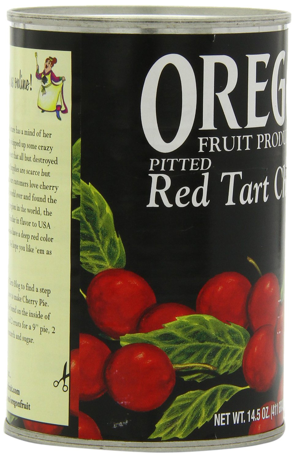 Amazon.com : Oregon Fruit Pitted Red Tart Cherries in Water, 14.5-Ounce Cans (Pack of 8) : Canned And Jarred Cherries : Grocery & Gourmet Food
