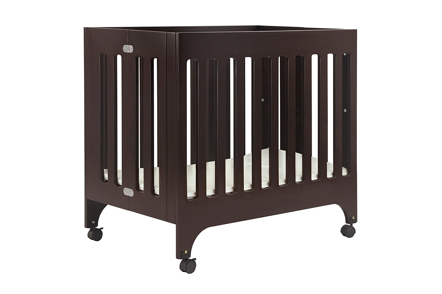 amazoncom  babyletto grayson mini crib with mattress pad  - amazoncom  babyletto grayson mini crib with mattress pad espresso(discontinued by manufacturer)  convertible cribs  baby