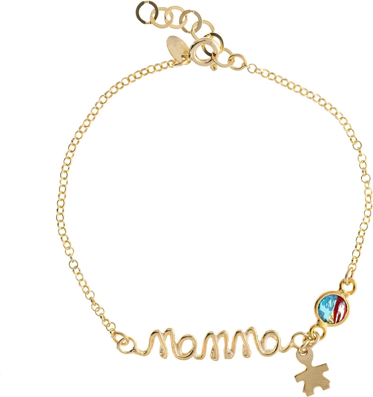 Córdoba Jewels | Plata de Ley 925 bañada en Oro con Piedra Murano. Diseño mamá Murano Oro