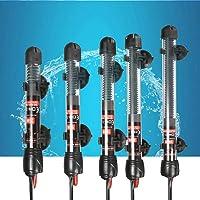 B&K 25 W/50 W/100 W/ 200 W/ 300 W Fish Tank Aquarium Heater Quartz Glass Auto Thermostat Submersible Water Heating Rod – 6 months Warranty (25W)