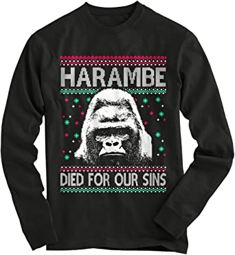 Blizzard Bay Mens Ugly Christmas Sweater Gorillas