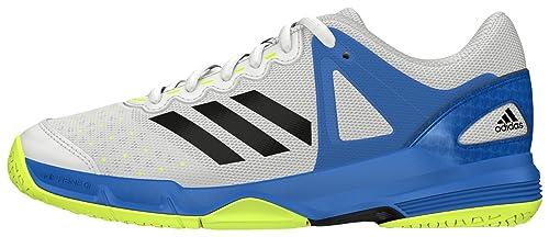 adidas Court Stabil J - Scarpe da bambini, Taglia 35,5, Colore Bianco