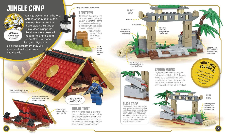 LEGO NINJAGO: Build Your Own Adventure: DK: 9781465435903: Amazon ...