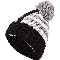 FRIENDSKART Men's, Women, Boy, Girl, Winter Fall hat Fashion Knitted Black ski Hats Thick Warm hat Cap Bonnet Skullies Beanie Soft Knitted Beanies Cotton01320