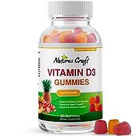 Vitamin D3 Immune Support Gummies - Vitamin D 2000 IU Adult Gummy Vitamins for Bone...