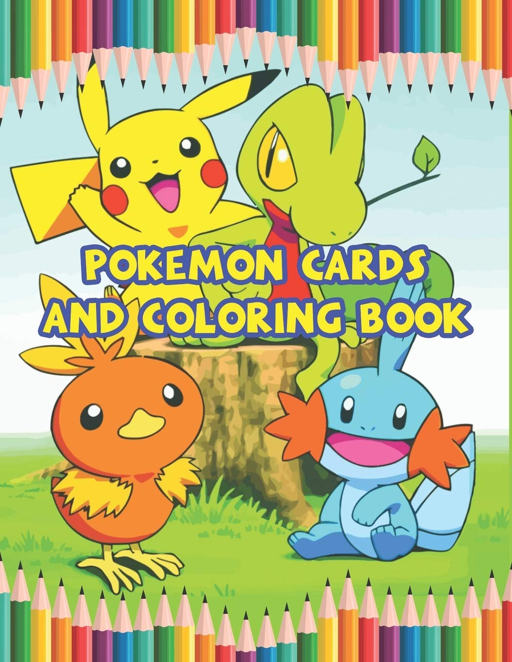 - Pokemon Cards And Coloring Book: Best Coloring Book Gifts For Kids