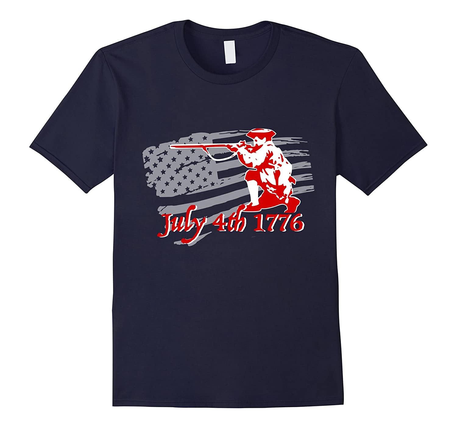 Independence day 4th July 1776 revolution tshirt-Vaci