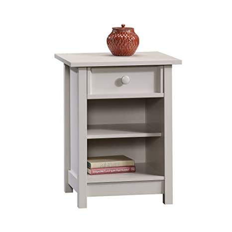 Amazon.com: sauder Original Cottage 1-Drawer mesa auxiliar ...