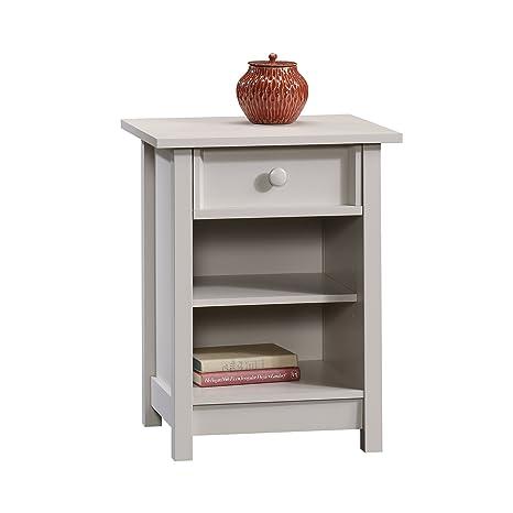 Amazon.com: sauder Original Cottage 1-Drawer mesa auxiliar ...