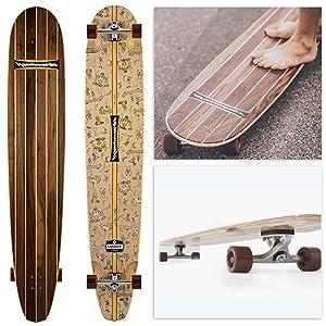 Hamboard logger- Handcrafted longboard skateboard Review