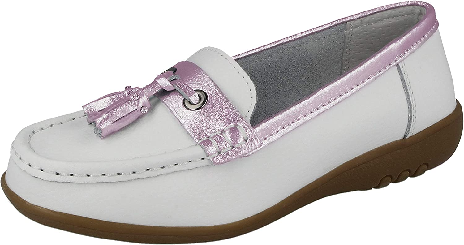 Cushion Walk Ladies Cassie Real Leather