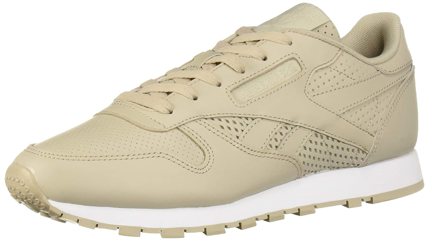 Multi-light Sand Weiß Reebok Classic Leather Turnschuhe