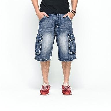 Amazon.com: Gomis New Pantalones vaqueros para hombre ...