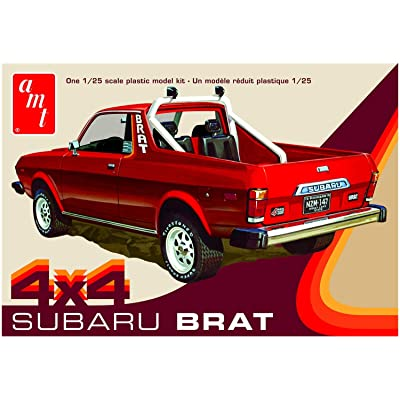 AMT 1/25 1978 Subaru Brat Pickup 2T, AMT1128: Toys & Games