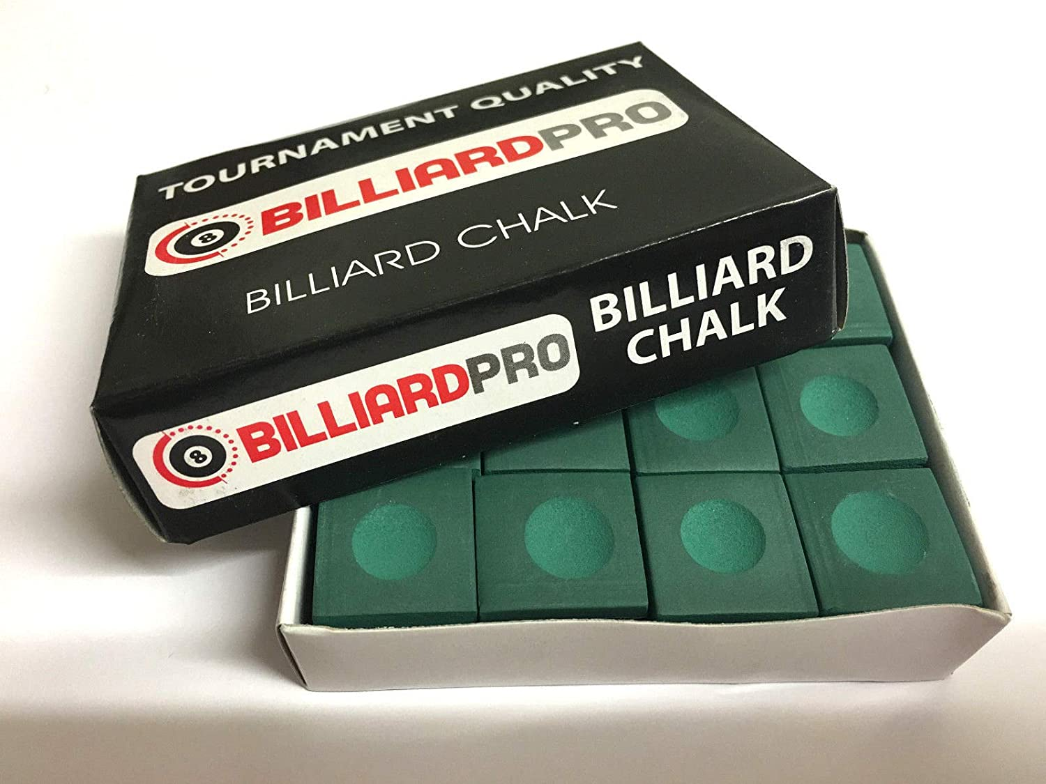 12 Pieces 1 BOX of RED Billiard Pro Snooker or Pool Cue Tips Chalks