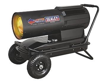 Sealey ab1500q Dual Fusion parafina/queroseno/Diesel Calentador Con Ruedas, 120000/150000 BTU/h: Amazon.es: Coche y moto