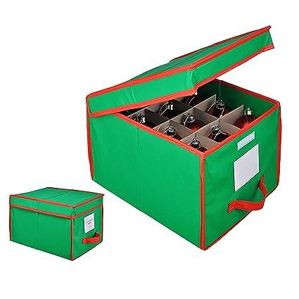 Bolas Navidad Box – Caja para guardar 24 bolas verde/rojo bolas