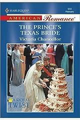 The Prince's Texas Bride (A Royal Twist)