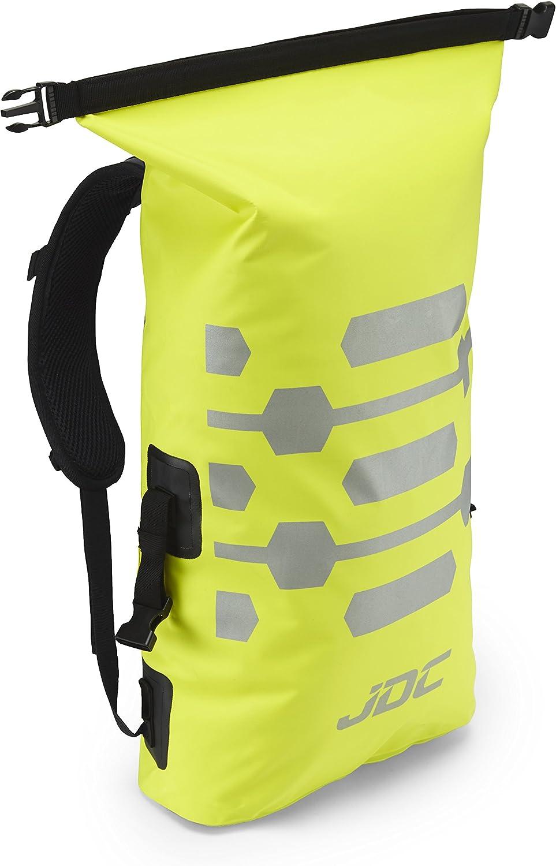 Reflector JDC Zaino da Moto Dry Bag 100/% Impermeabile capacit/à 25L Nero