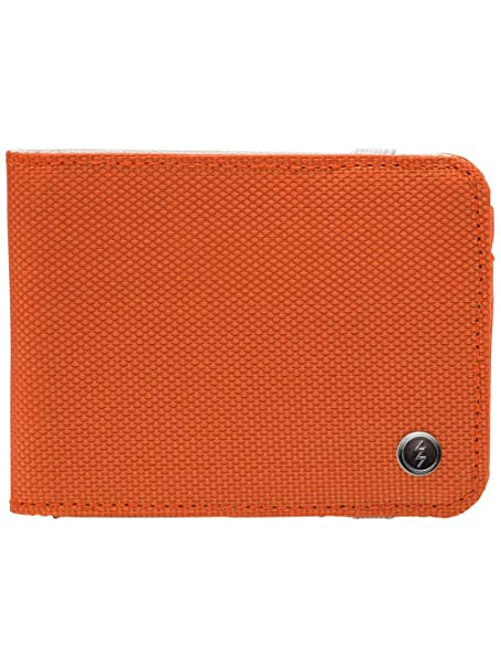 Electric Visual Zulu Cartera EN Color Naranja - Surf/Skate Estilo Cartera con Cierre Seguro: Amazon.es: Ropa y accesorios