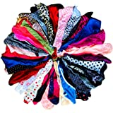 O'Kalyn Varity of Women Underwear Panties Pack Thong G-string T-back Lacy Tanga Assortment