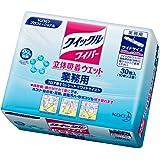クイックルワイパー立体吸着ウェットシート 店販 30枚(10枚×3)(花王プロフェッショナルシリーズ)