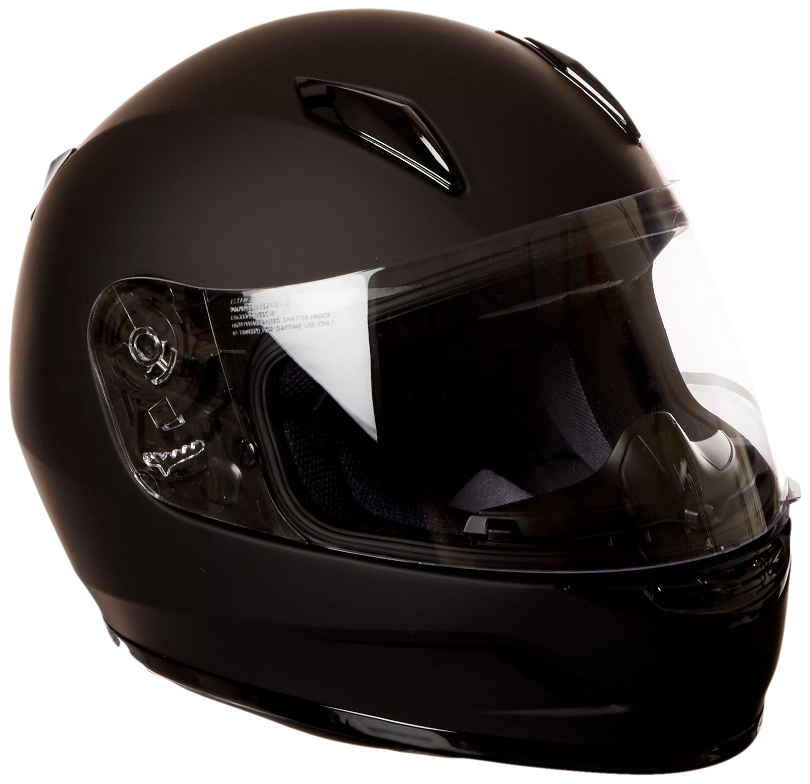 HJC Helmets CL-Y Youth Helmet (Matte Black, Medium) by HJC Helmets